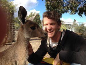 Scott & Kangaroo - Perth May 2015