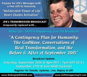 JFK Broadcast 26 Sep 2015