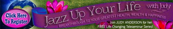 Jazz Up Your Life With Judy - banner