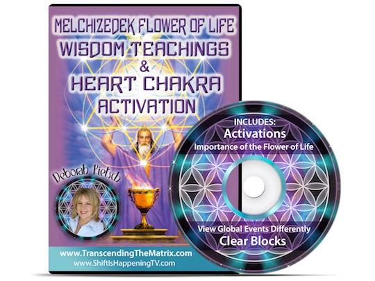 Melchizedek Heart Chakra Activation