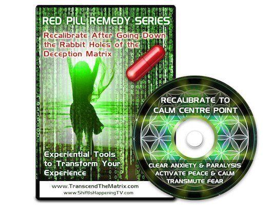 Transcend The Matrix Red Pill Remedy Calm Scott Bartle Deb Pietsch