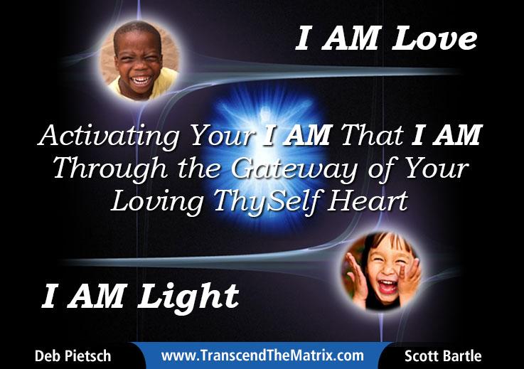 Transcend The Matrix Scott Bartle Deb Pietsch I AM LOVE