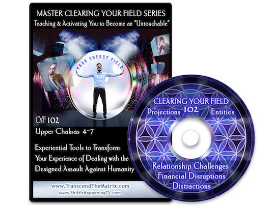 Clearing Your Field 102 Chakras Deb Pietsch Transcend the Matrix Scott Bartle