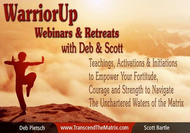 WarriorUp Webinars & Retreats with Deb & Scott