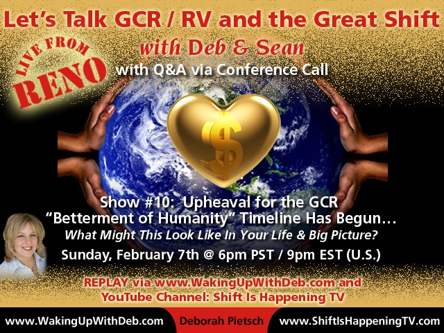 GCR : RV Activation Conference Call #10 Feb 07 2016