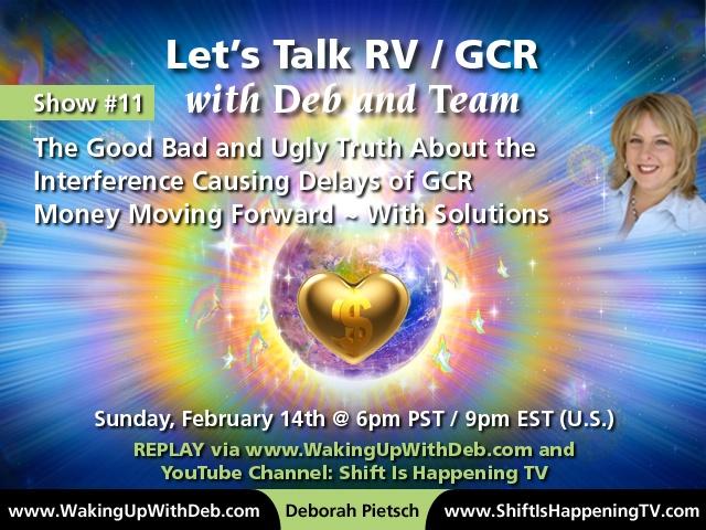 RV : GCR Show #11 Deb Pietsch