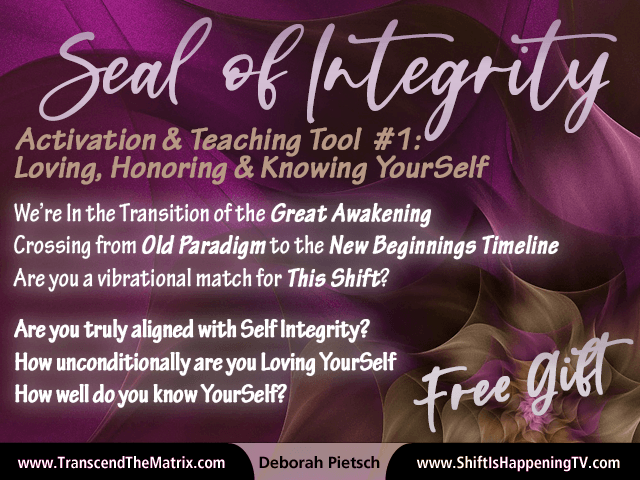 Seal of Integrity - Free Gift