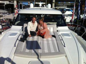 Sydney Yacht Show - Deb & Scott