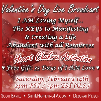 Valentines Day Live Broadcast - Shift Is Happening