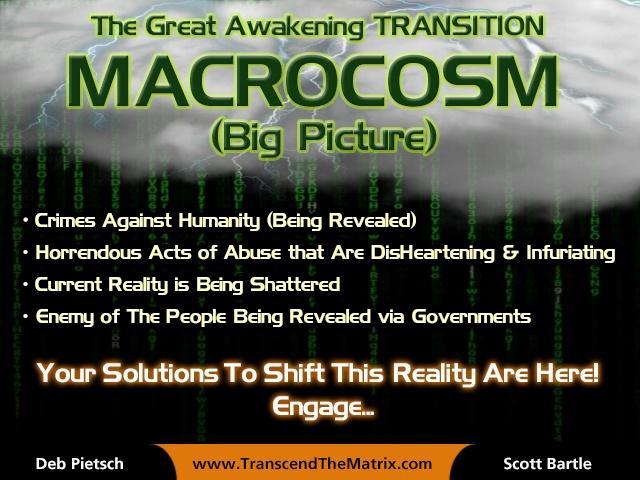 Macrocosm Matrix rain