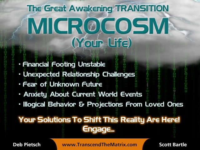 Microcosm Matrix Rain