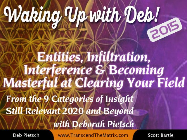 Entities, Infiltration, Interference & Becoming Masterful at Clearing Your Field