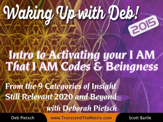 Intro to Activating your I AM That I AM Codes & Beingness