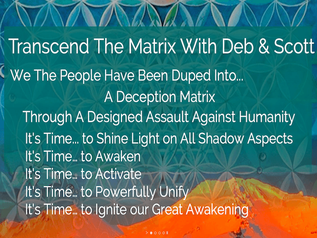 Transcend The Matrix Sep 2018 Screenshot