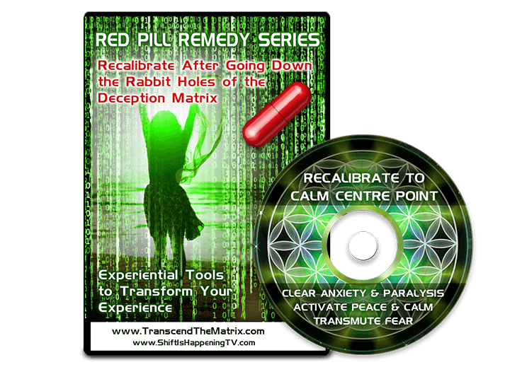 Red Pill Remedy Calm Experiential Tool
