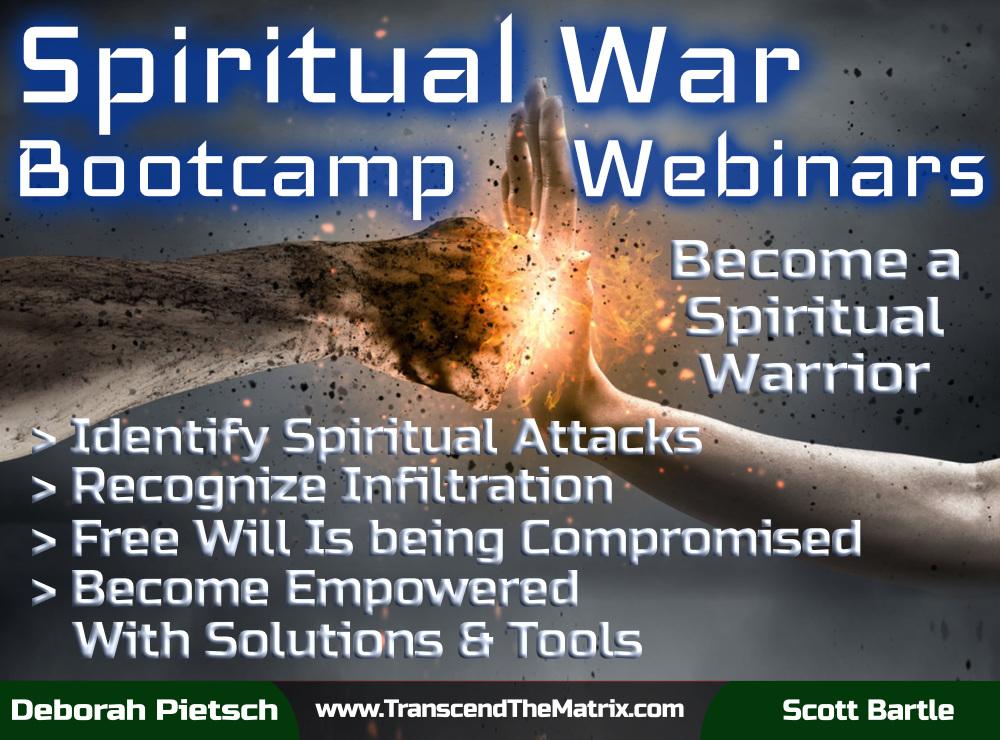 Spiritual War Bootcamp Webinars